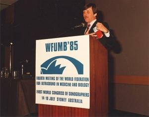 George Kossoff opening WFUMB'85 (1985)