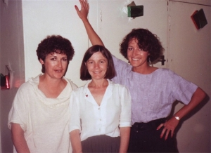 Kaye Griffiths, Sally Simpson, Janette Boyd (1987?)