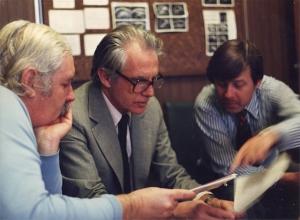 Richard Picker, Bill Garrett, George Kossoff at UI Friday Session (1978?)