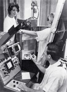 Patricia Duff, George Radovanovich, Mark IB scanner (1964)