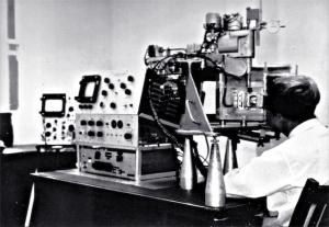 Mark I eye echoscope, Royal Prince Alfred Hospital (1964)
