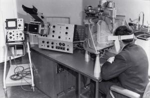 Mark I eye echoscope, RPAH (1964)