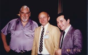 Drs. Richard Picker, Marvin Ziskin, Jack Jellins at WFUMB'85.
