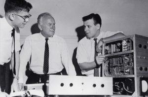 Dave Robinson, Norman Murray, George Kossoff (1962)