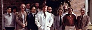 Michael Manco-Johnson and UI/RHW Course participants (1981)