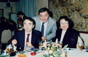 Enzo Durante, Jack Jellins and Ki Oh