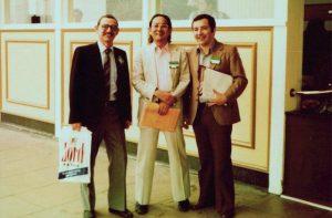 Branko Breyer, Toshiji Kobayashi and Jack Jellins