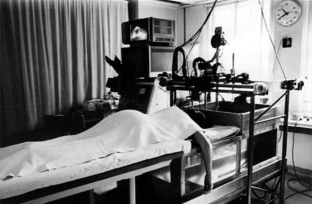 Breast scanner after modifications, Royal North Shore Hospital (1976)