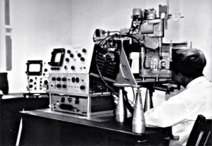 Mark I eye echoscope, Royal Prince Alfred Hospital (1964)