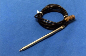 Straight head semi-circular canal probe