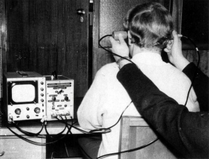Valve Neuroscope being used to assess mid-line shift