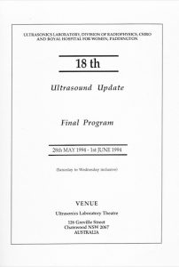 Course program for UI/RHW Course (1994)