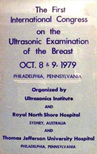 Breast conference flyer (1979)