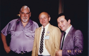 Drs. Richard Picker, Marvin Ziskin, Jack Jellins at WFUMB'85.
