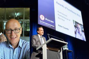 2019 Humanitarian Award - Peter Coombs